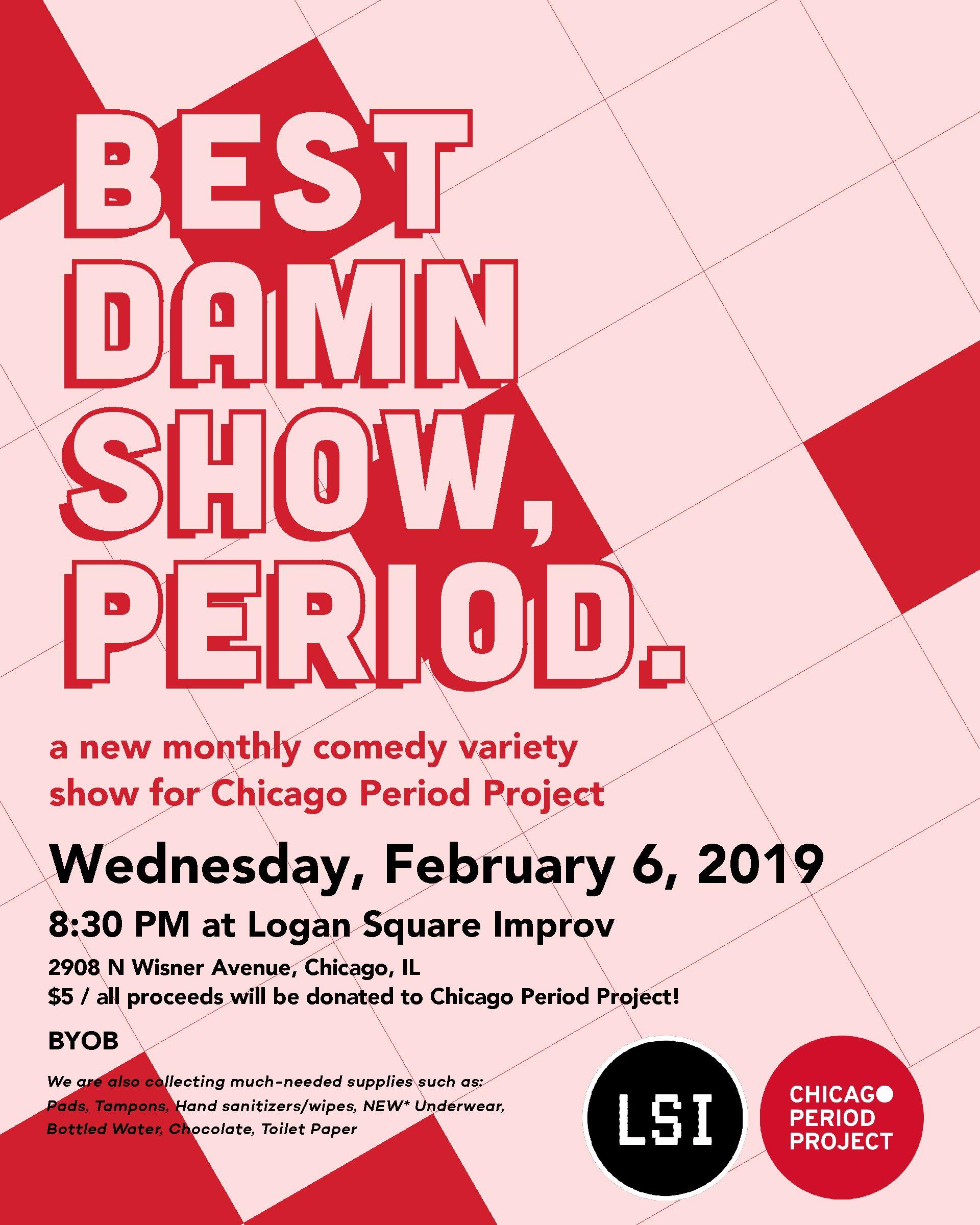 Best Damn Show, Period  – Logan Square Improv